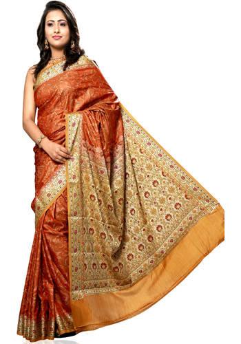 how to wear open pallu saree