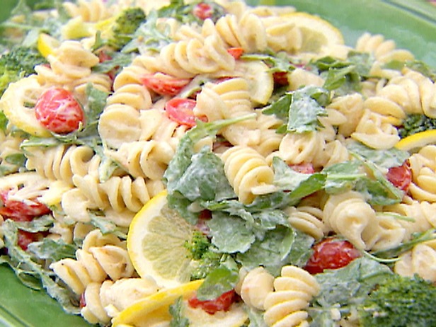 Fusilli with tomatoes and olives italian dish Ina garten summer pasta