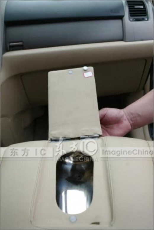 Toilet Chair Inside A Car Ufffff These Chinese