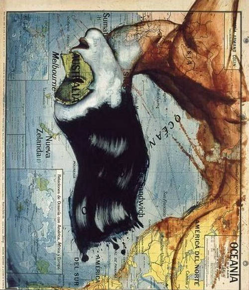 Unusual Atlas  Artistic Way To Map The World