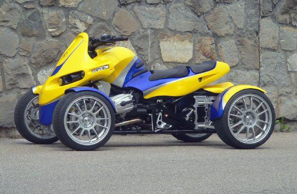 ATV GG Quadster - Four Wheel Motorcycle - XciteFun.net
