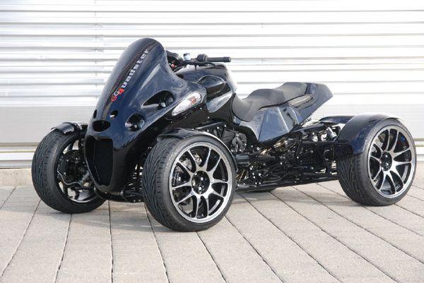 Atv Gg Quadster Four Wheel Motorcycle