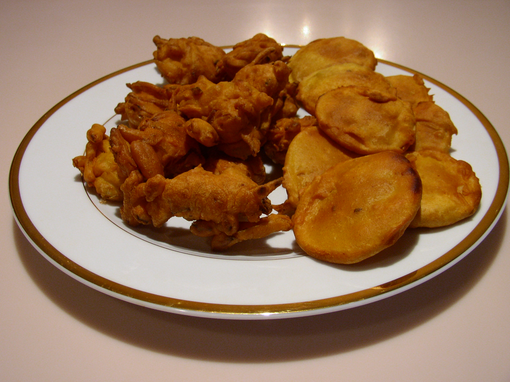 146829xcitefun pakoras - Chicken Kebabs and Pakoras