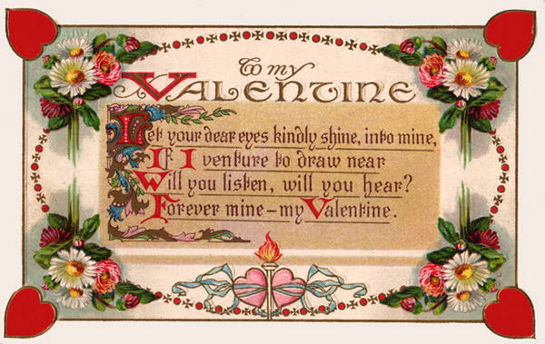 Valentines Day Poems  Poetry of Love