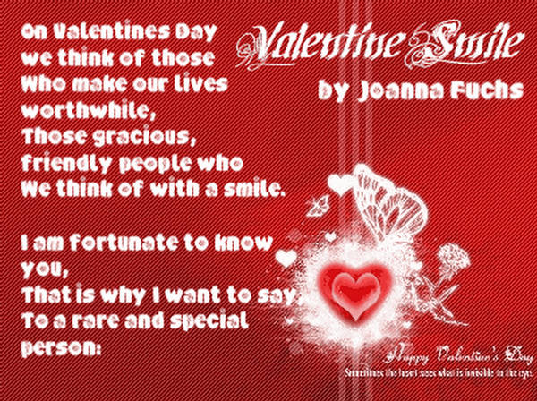 valentine's poems - photo #21