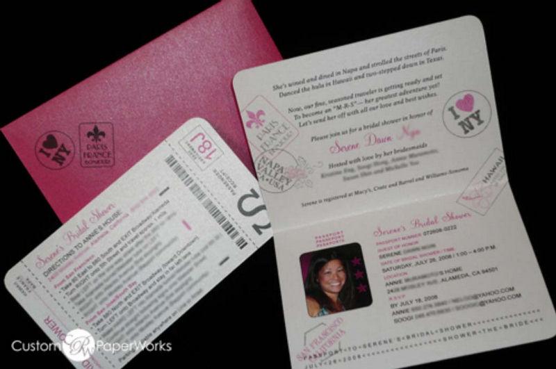 Wedding Passport Funny Invitation Cards XciteFunnet – Funny Invitation Cards