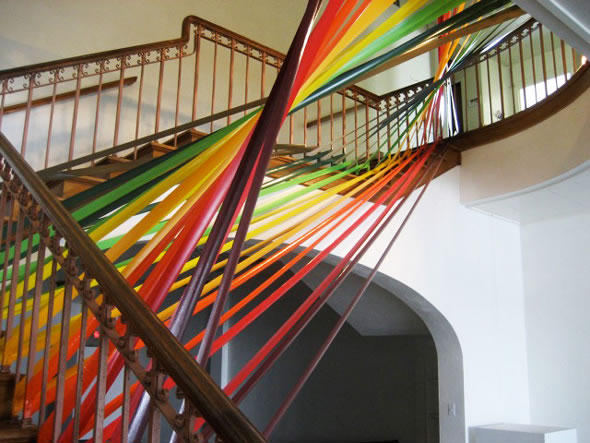 Stunning Colorful Tape Art Designs Xcitefun Net