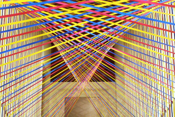 Colour Line Art Design : Stunning colorful tape art designs xcitefun