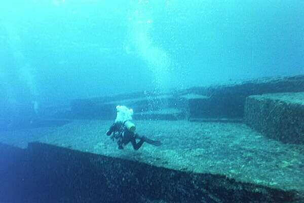 Yonaguni Monument  Underwater Rock Formation