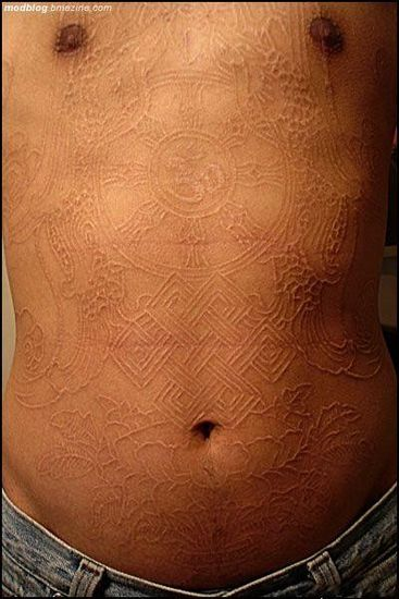 Scarification As Body Art