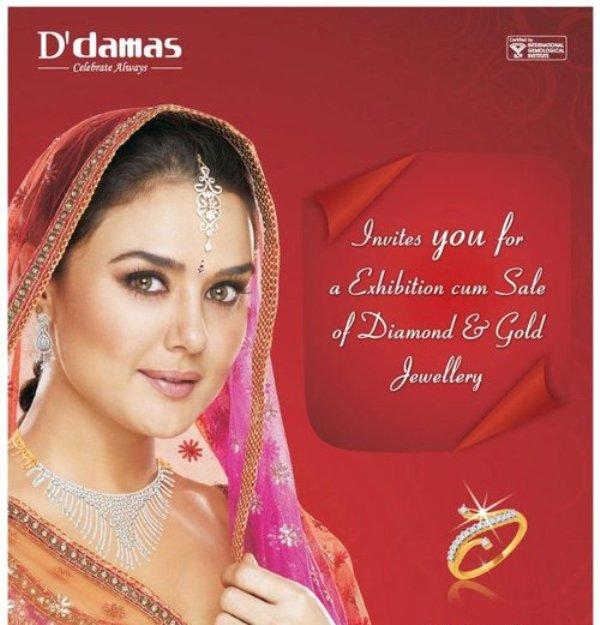 Preity Zinta D'Damas Jewellery Add. PhotoShoot 158051,xcitefun-preity-zinta-for-ddamas-jewellery-aug-20