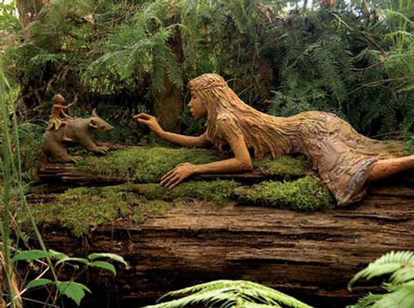 Tree sculptures for nature lovers xcitefun