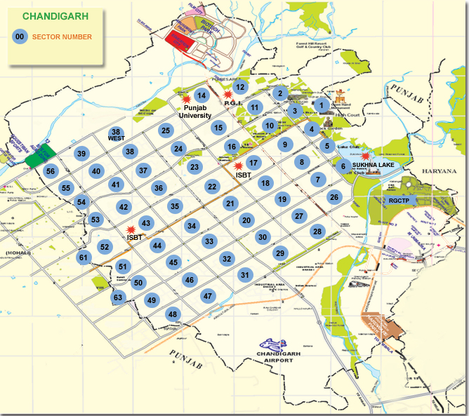 chandigarh Maps 160391,xcitefun-chd-map