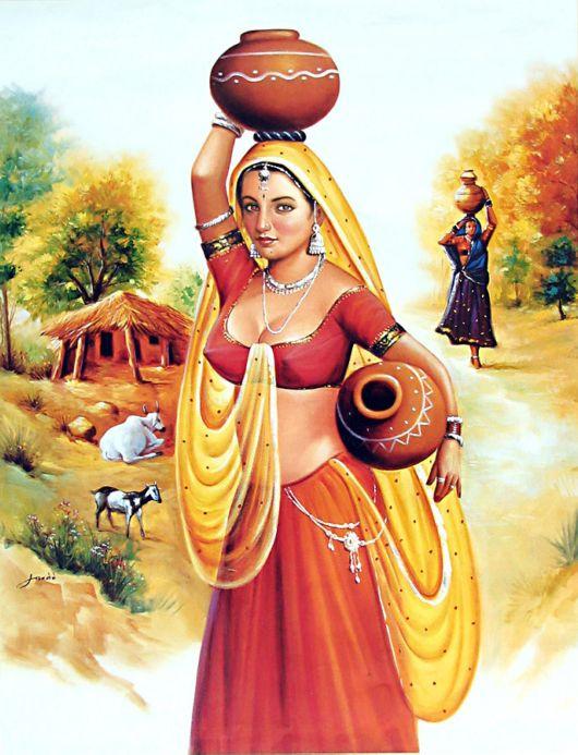 Рисовать в индии