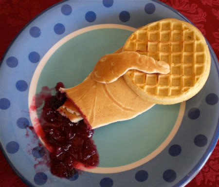 Topic Views Post Subject Funny Waffle Art