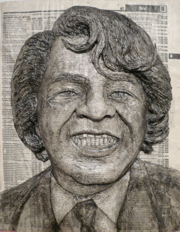 Amazing Celebrity Phone Book Carving Art XciteFunnet - Unbelievable portraits carved phone books