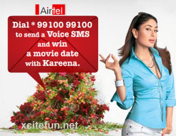 The Auto Connection >> Kareena Kapoor Airtel Print Ads - XciteFun.net