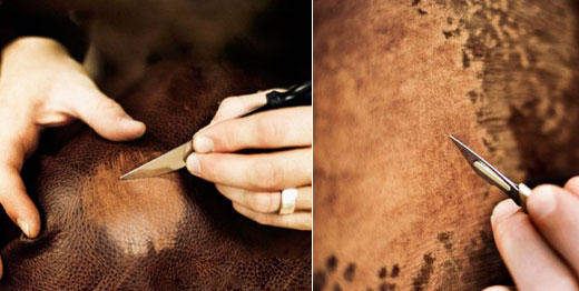 One Way Auto >> Animals Skin Paint Art With Knives - XciteFun.net