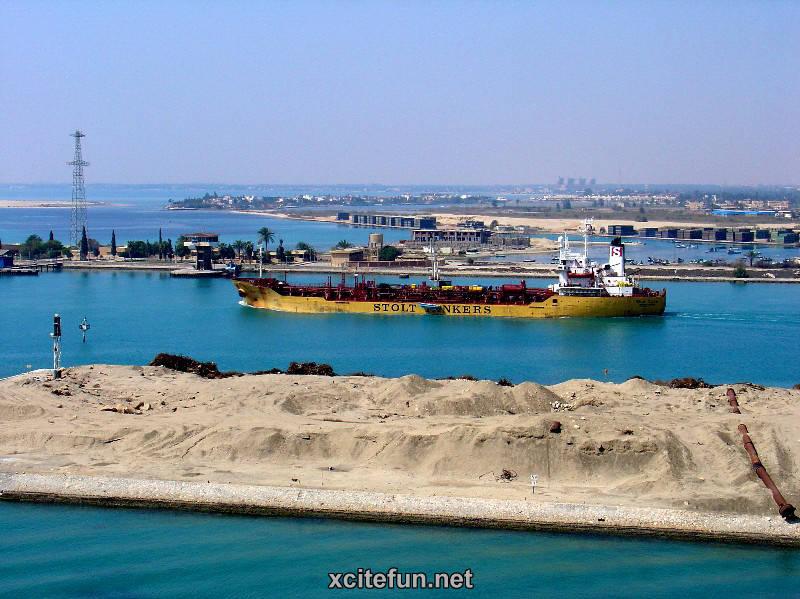 Suez Egypt  city images : Suez Canal An Artificial Waterway of Egypt : Travel Tourism