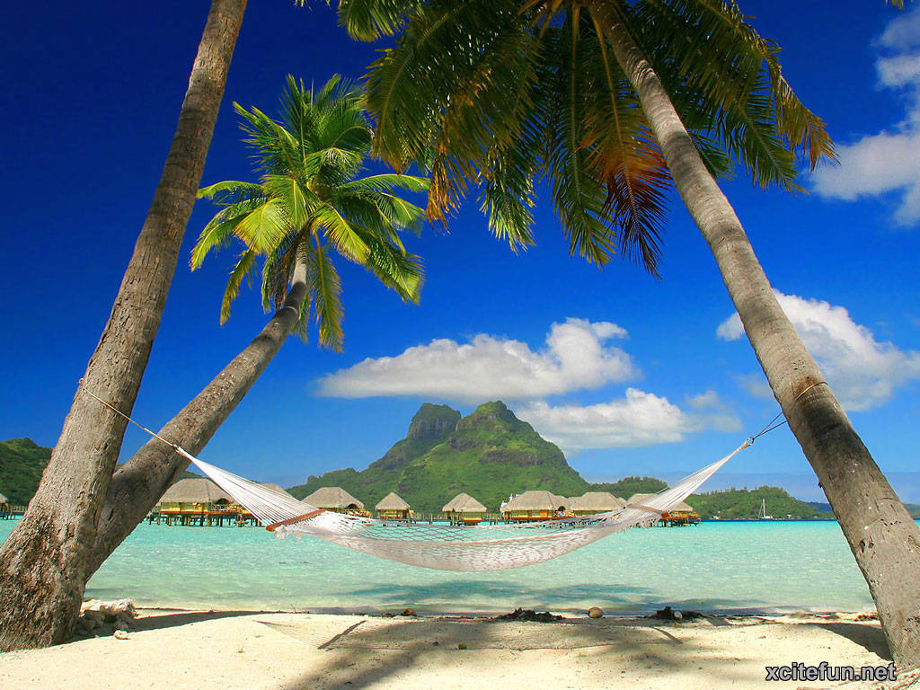 Tropical Island Beach Ambience Sound: Bora Bora: The Most Romantic Island