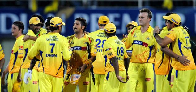 Chennai Super Kings  Champions of IPL 2010
