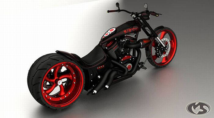 Bikes 3d D Bikes Cool Chopper Concepts