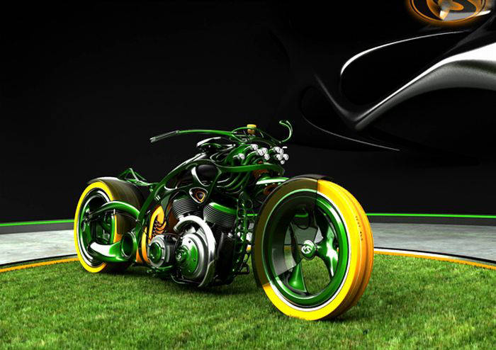 Bikes 3d D Bikes Cool Chopper