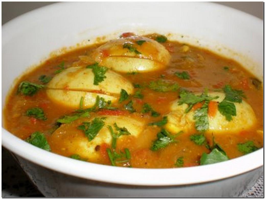 Simple Recipe : Anda Aloo Curry (Egg Potato curry) : Food Recipes