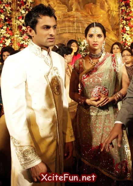 Sania Mirza Shoaib Malik Wedding Reception In Pakistan