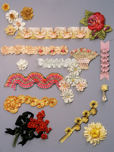Ribbon Work Designs http://forum.xcitefun.net/amazing-ribbon-work-try-it-t47243.html
