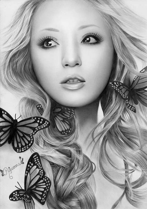 Beautiful and Realistic Pencil Drawings - XciteFun.net
