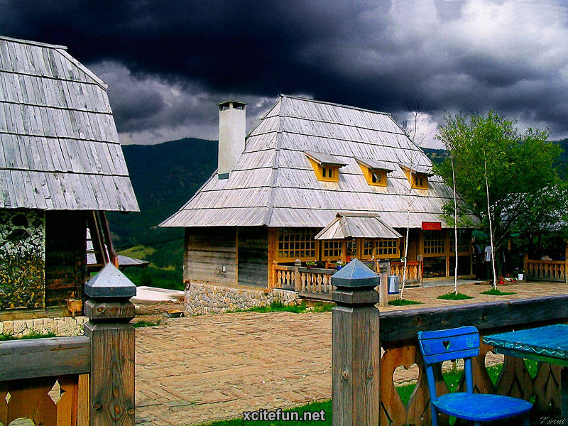 Drvengrad The Wooden Town Of Serbia Xcitefun Net
