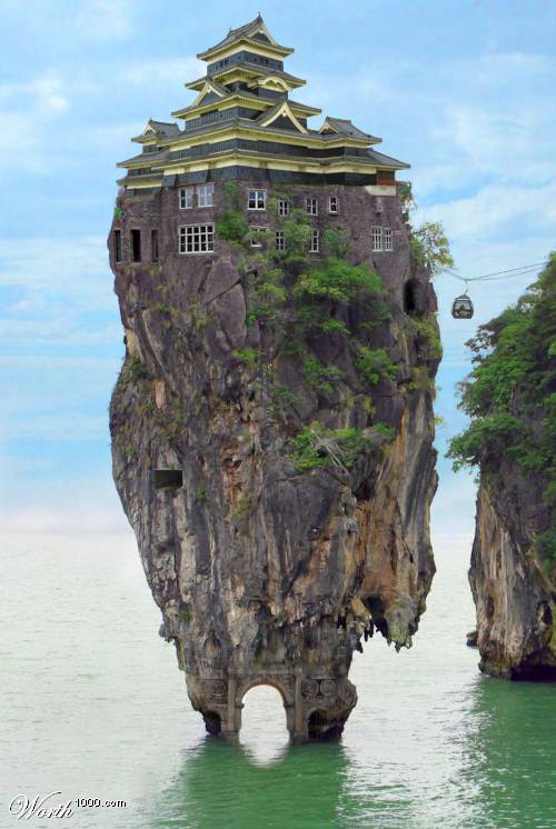 Strange houses weird houses from around the world for Most amazing houses
