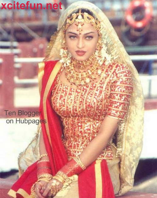Aishwarya Rai Wedding Dress Bridal Jewelry