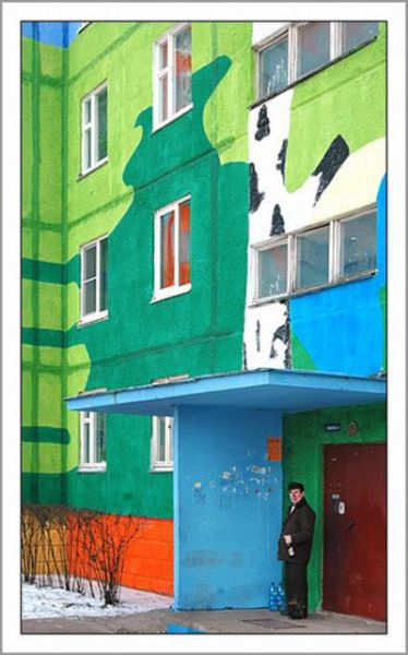 Russian Panelaks The Colorful Buildings Xcitefun Net