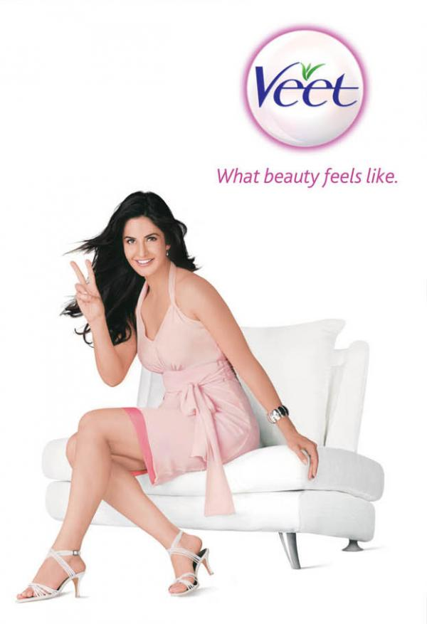 Katrina Kaif Veet Ad  Pics and Video