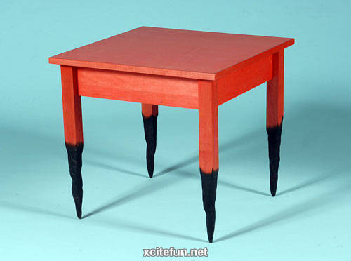 Cartoonish Furniture - Straight Line Designs