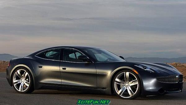 Fisker Karma Phev Sports Car Solar Roof Xcitefun Net