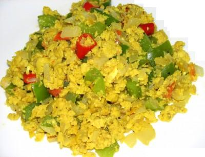 quotquotSpecial Recipe 4 Boys Scrambled Egg Masalaquot