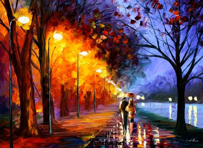 magnificent oil paintings by leonid afremov
