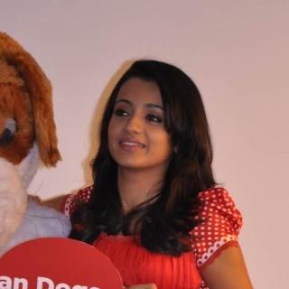 Cute Trisha at PETA event