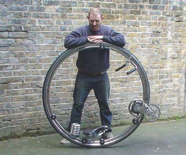 Monowheel 1 Wheel Bicycle Xcitefun Net