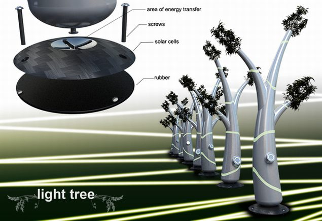 Light Tree Could Replace Classic Street Lamps