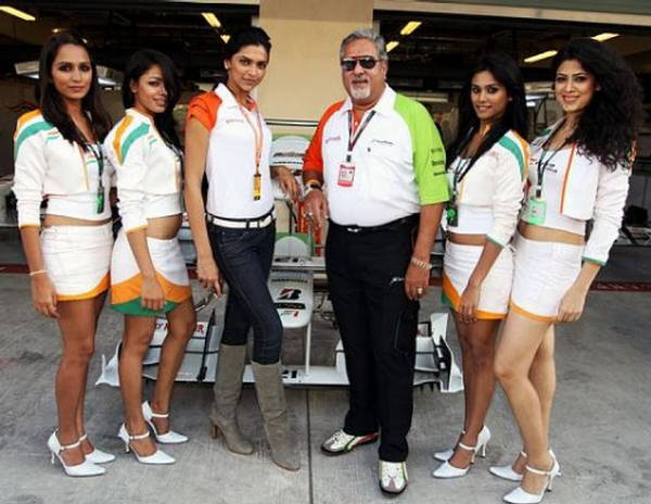 Deepika Padukone - Formula One Cheerleader
