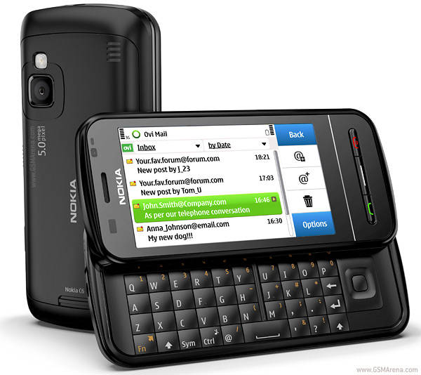 Nokia C6 Smartphone  Home Screen Functionality