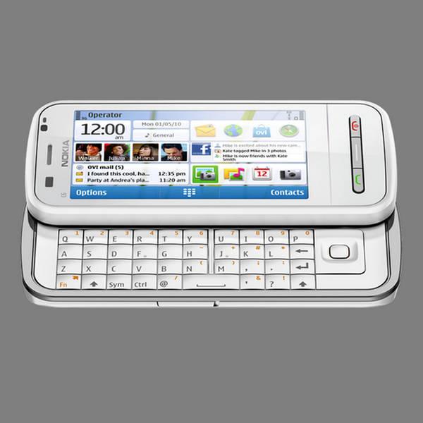 Nokia C6 Smartphone  Home Screen Functionality