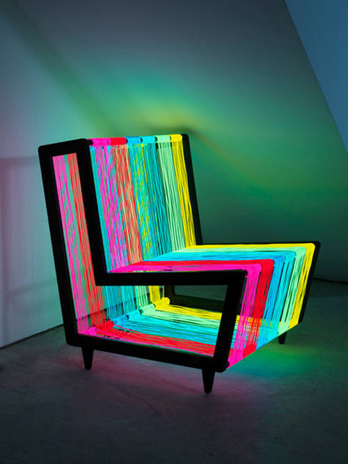 Disco Chair The Colorful Furniture
