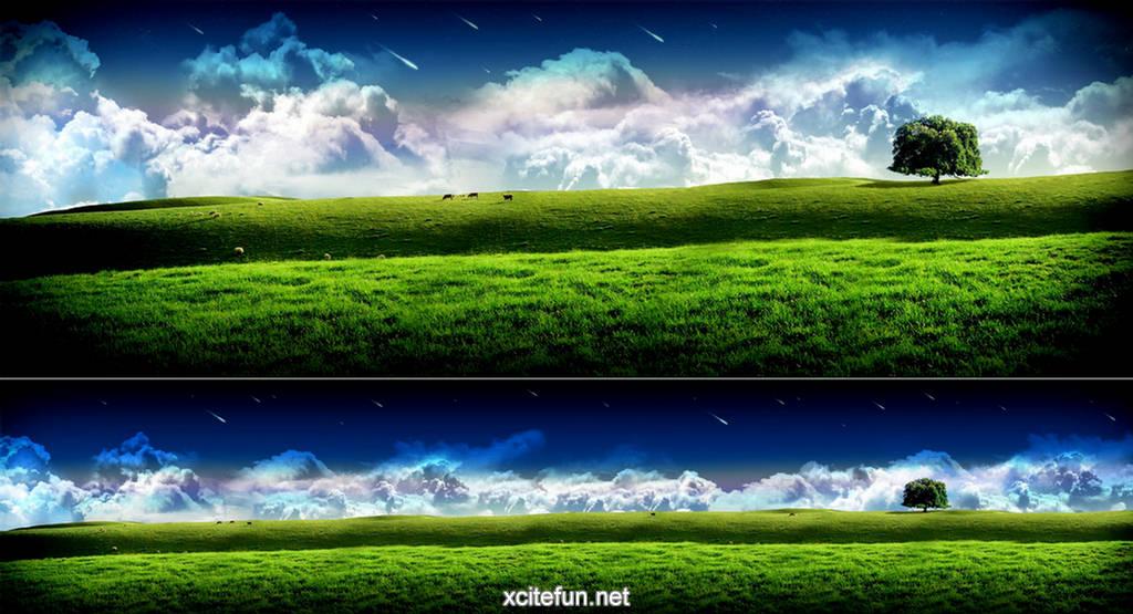 Tripple Screen Desktop Wallpapers
