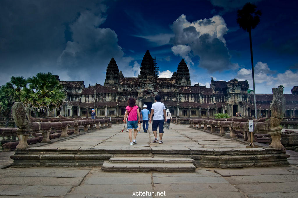 Angkor Wat Temple 12th Century Capital City Xcitefun Net