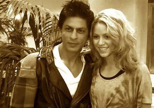 Shahrukh Khan Met Shakira  Mega Pictures